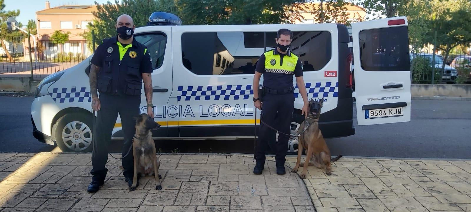 CURSO GUIAS CANINOS POLICIA LOCAL