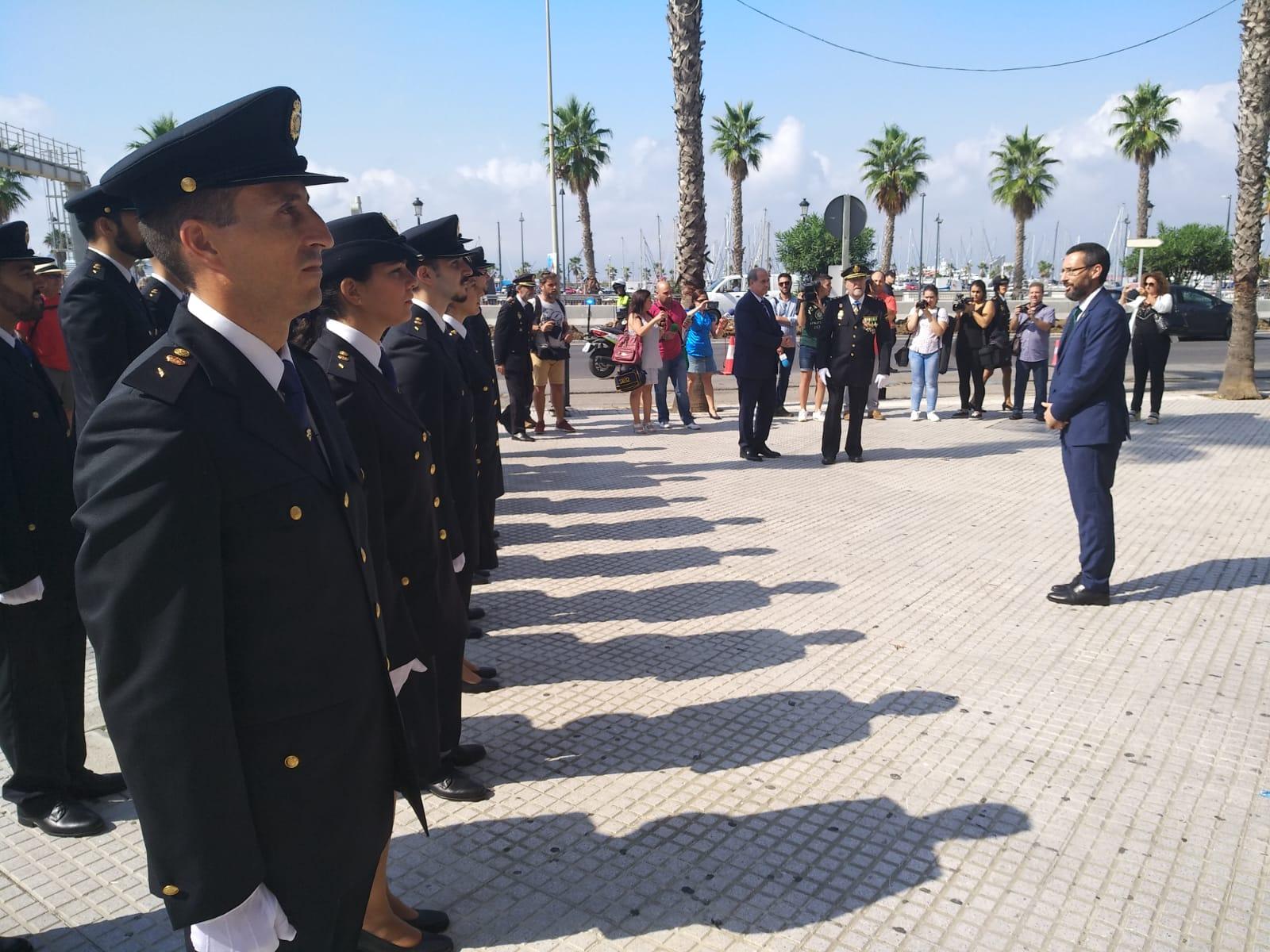 Alcalde Dia Policia Nacional