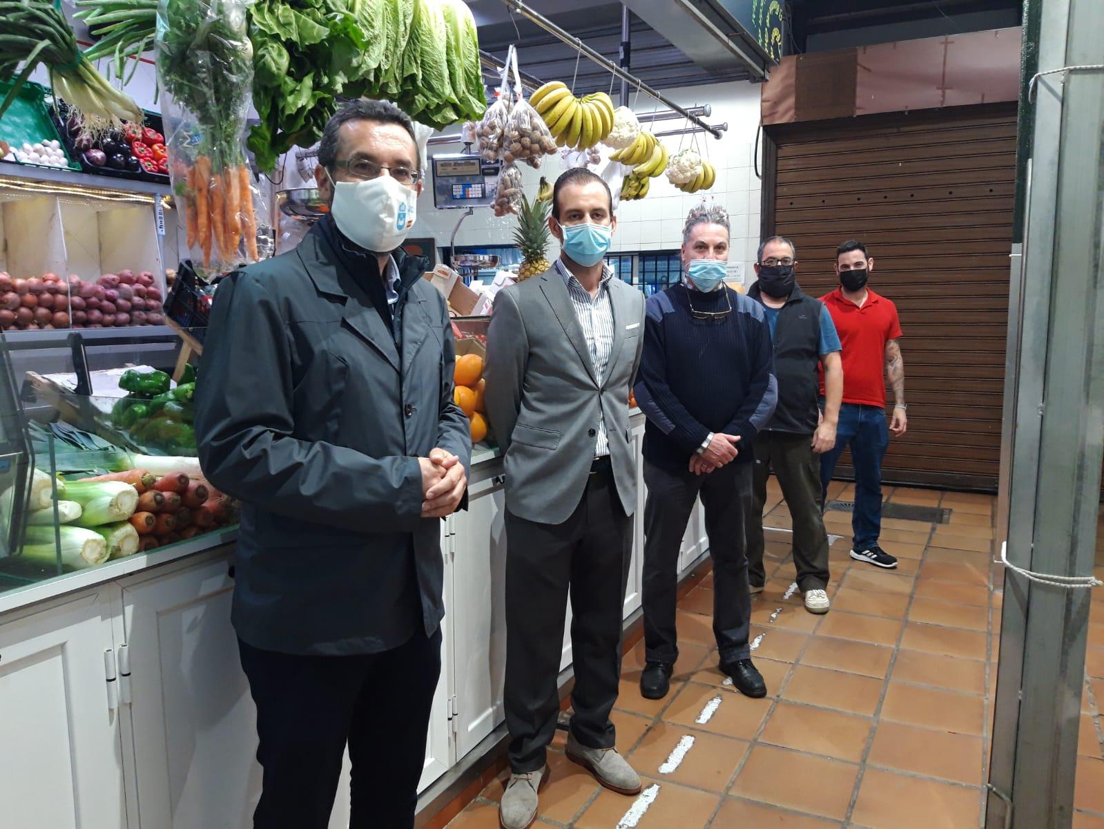 Alcalde y Espinel en Mercado