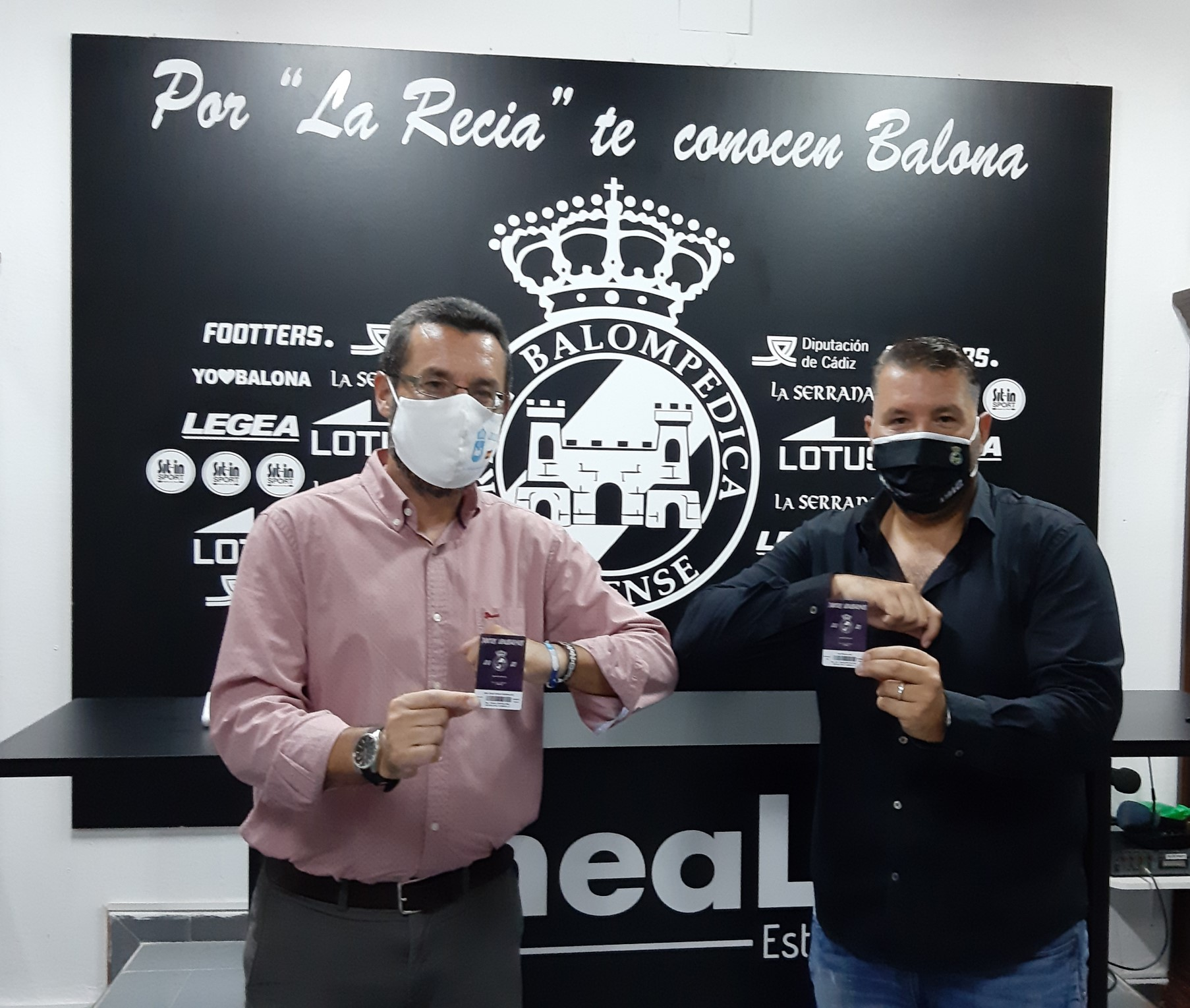 Alcalde y Presidente Balona abonos 2020 2021