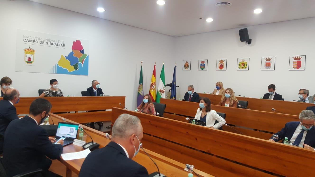 Alcaldes con Gonzalez Laya Mancomunidad