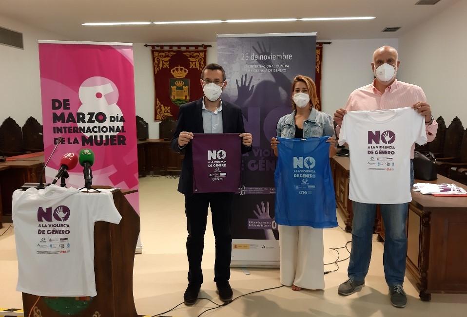 Campaña contra violencia de genero Iguladad Deportes