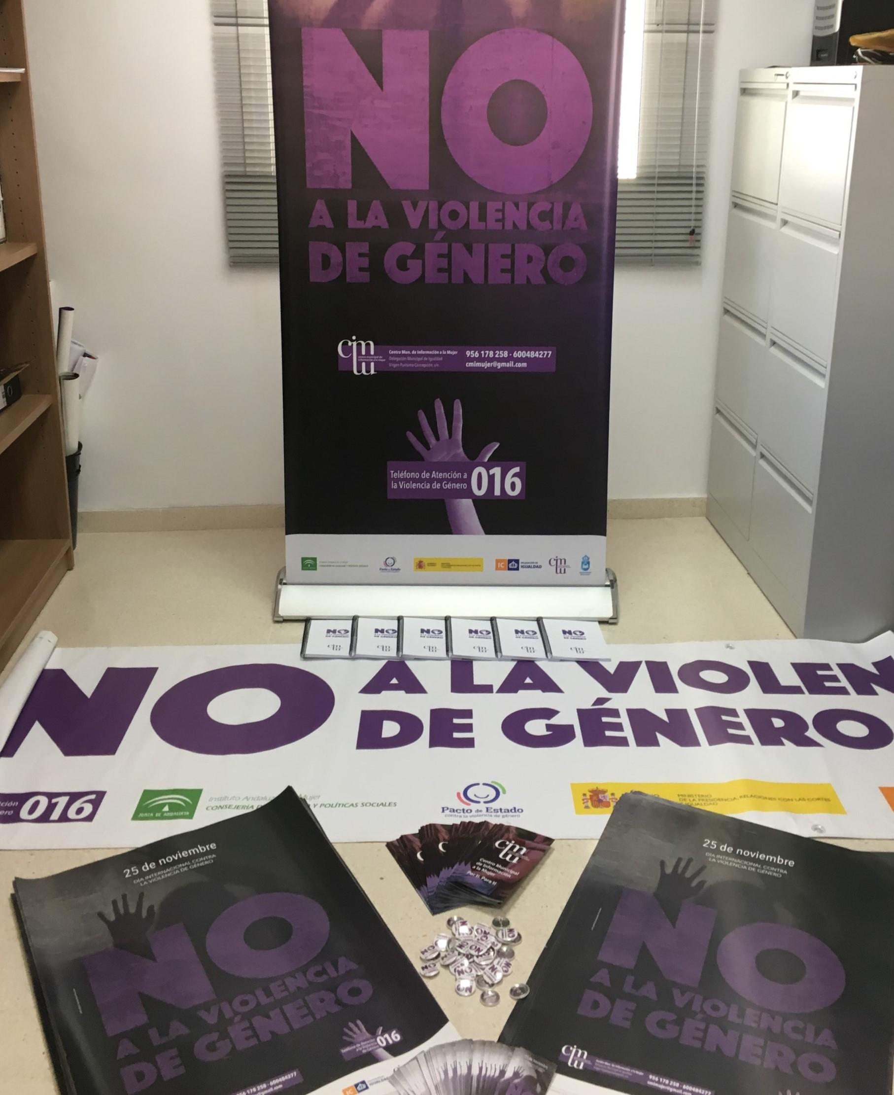 Campaña contra violencia genero