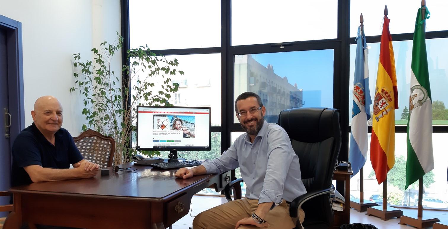 Carlos Jaime y alcalde