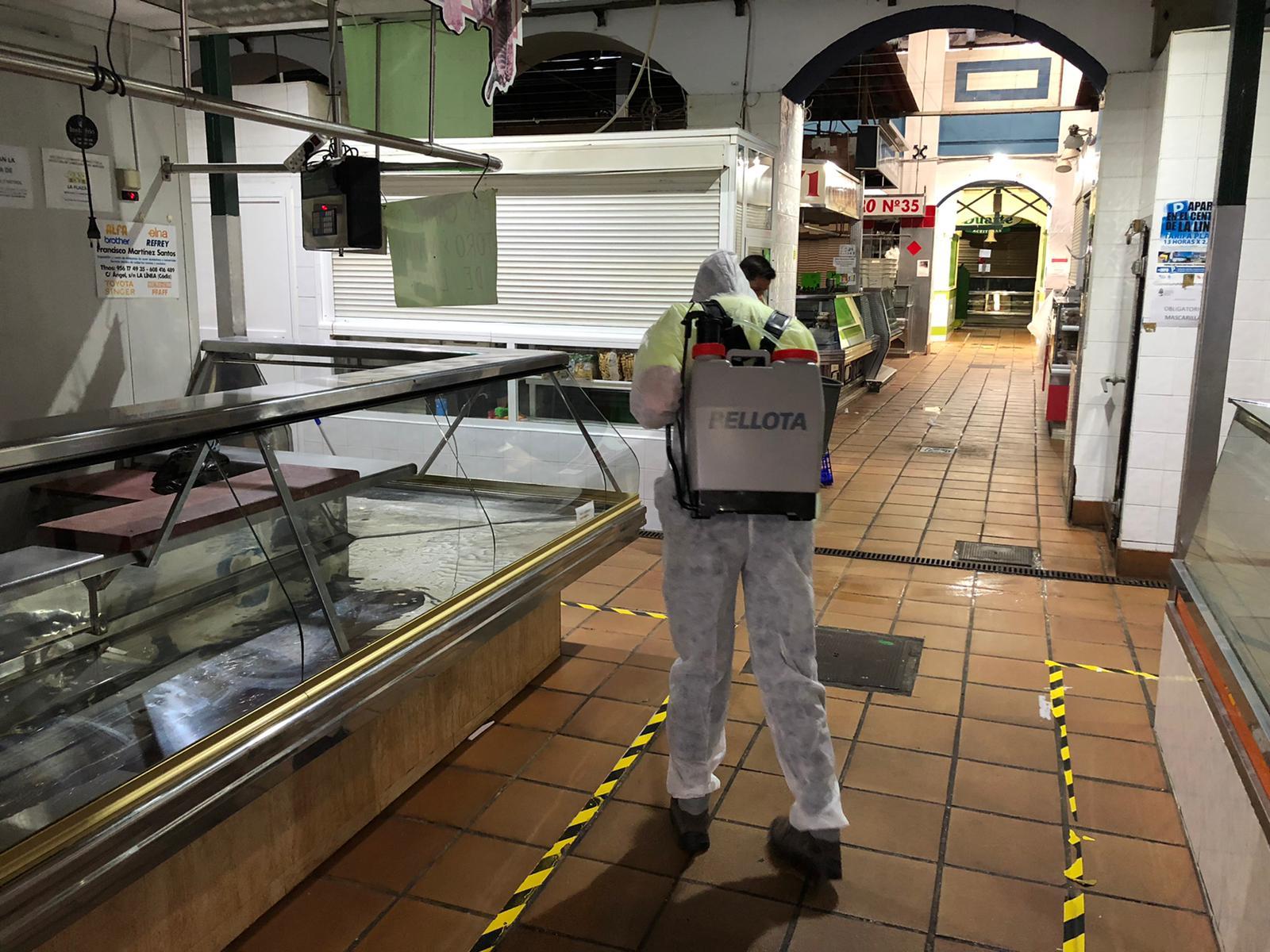 Desinfeccion y limpieza Mercado