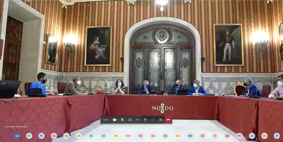 Encuentro secretaria de Vivienda Junta Andalucia