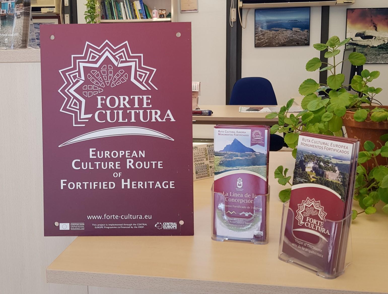 Forte cultura folletos turismo