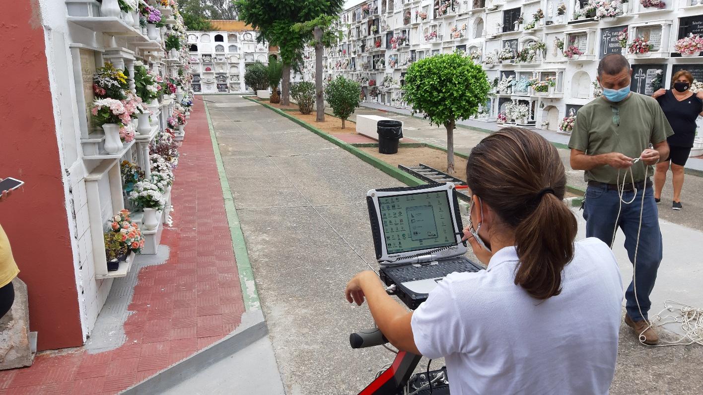 Geolocalizacion fosas comunes cementerio patio norte
