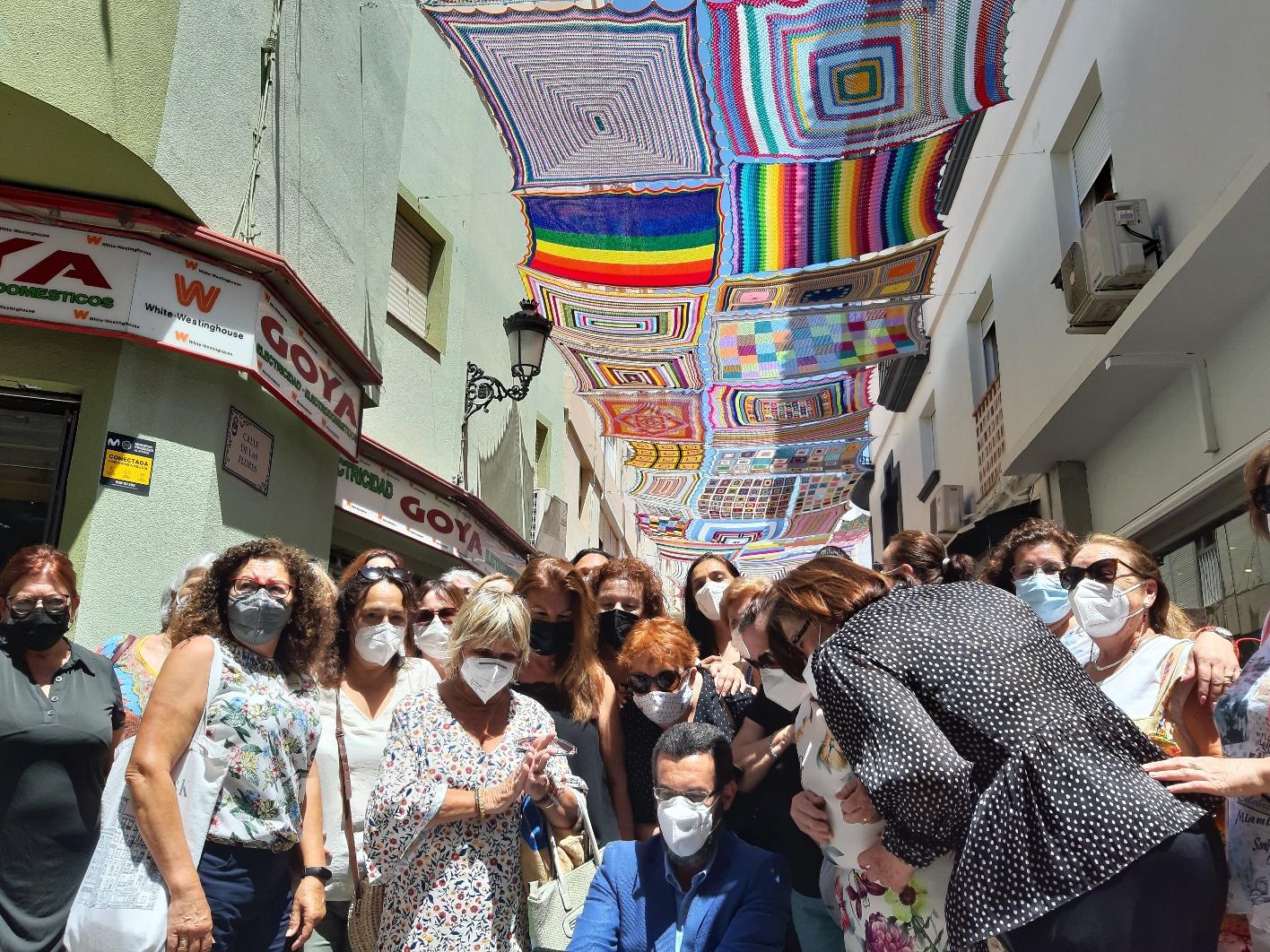 Inauguracion toldos calle las Flores 1