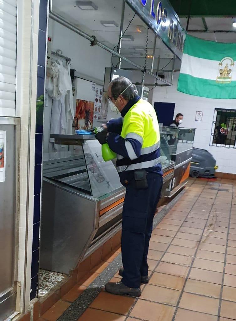 Limpieza Mercado 2