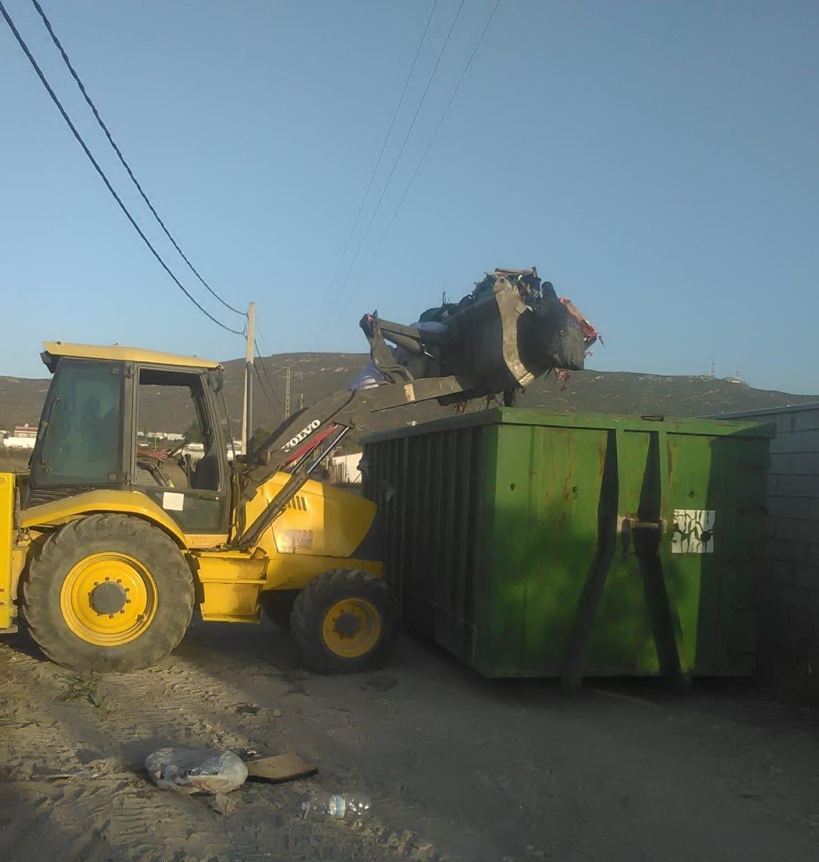 Limpieza camino Torrenueva