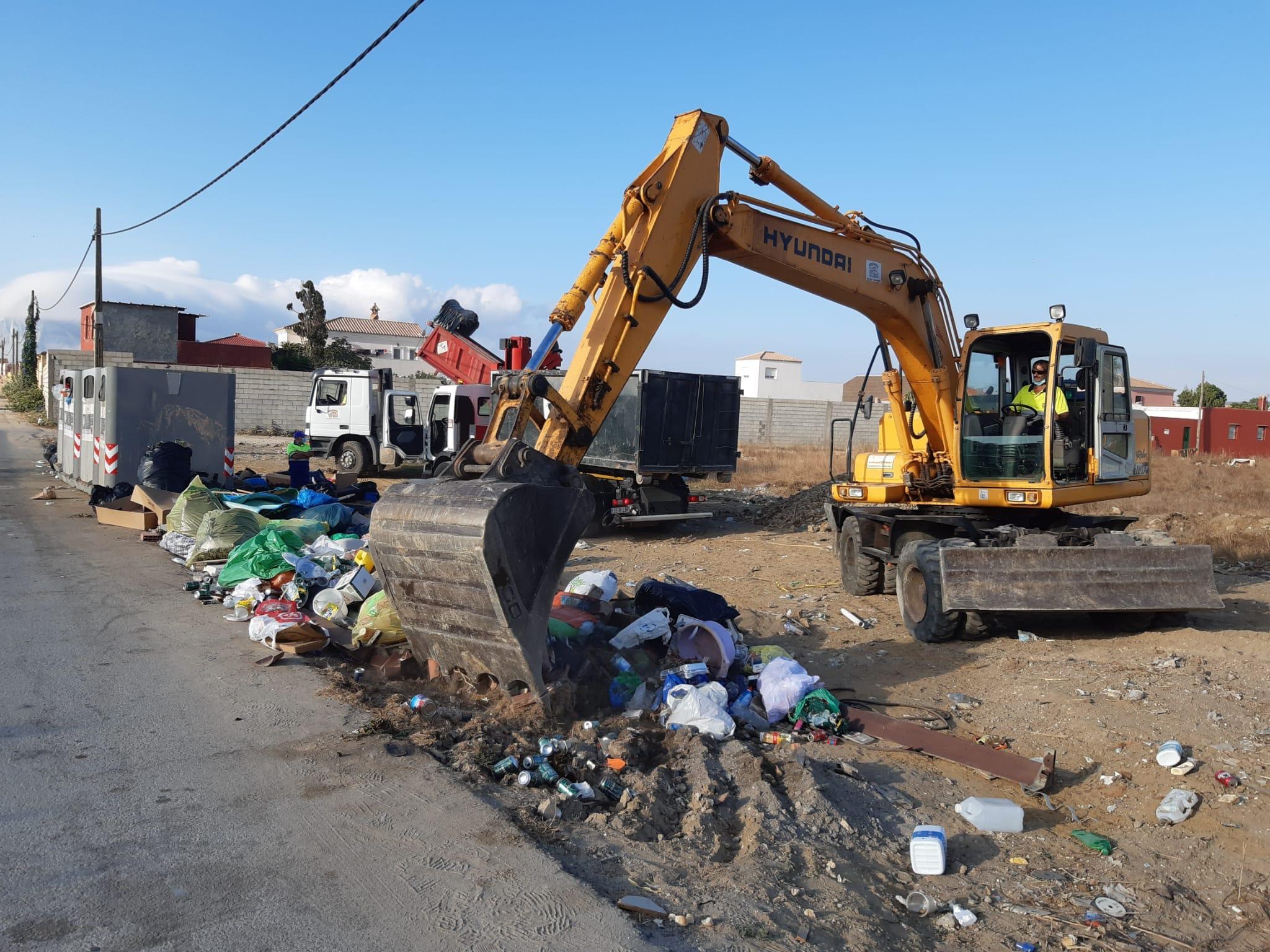 Limpieza residuos Torrenueva