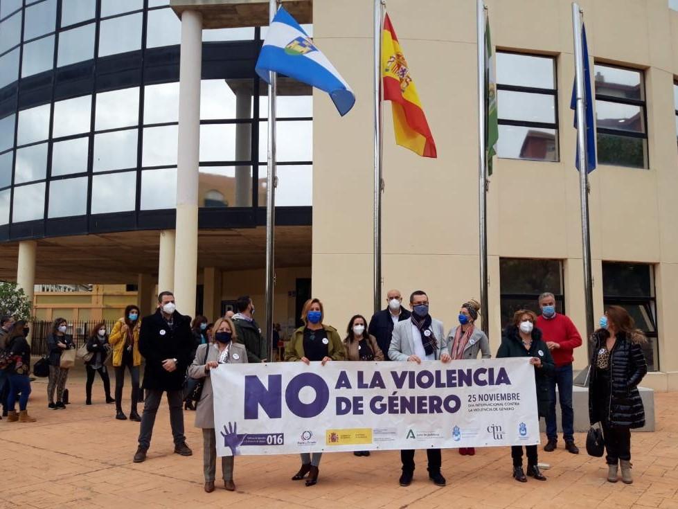 MINUTO DE SILENCIO Violencia Genero 25N