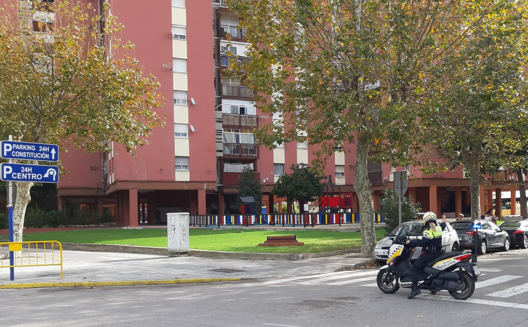 Moto policia Sacra