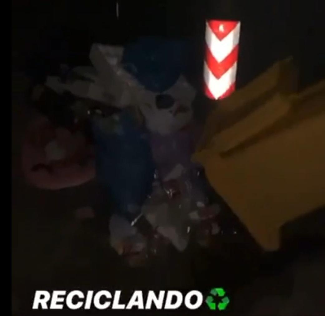 Multa basuras