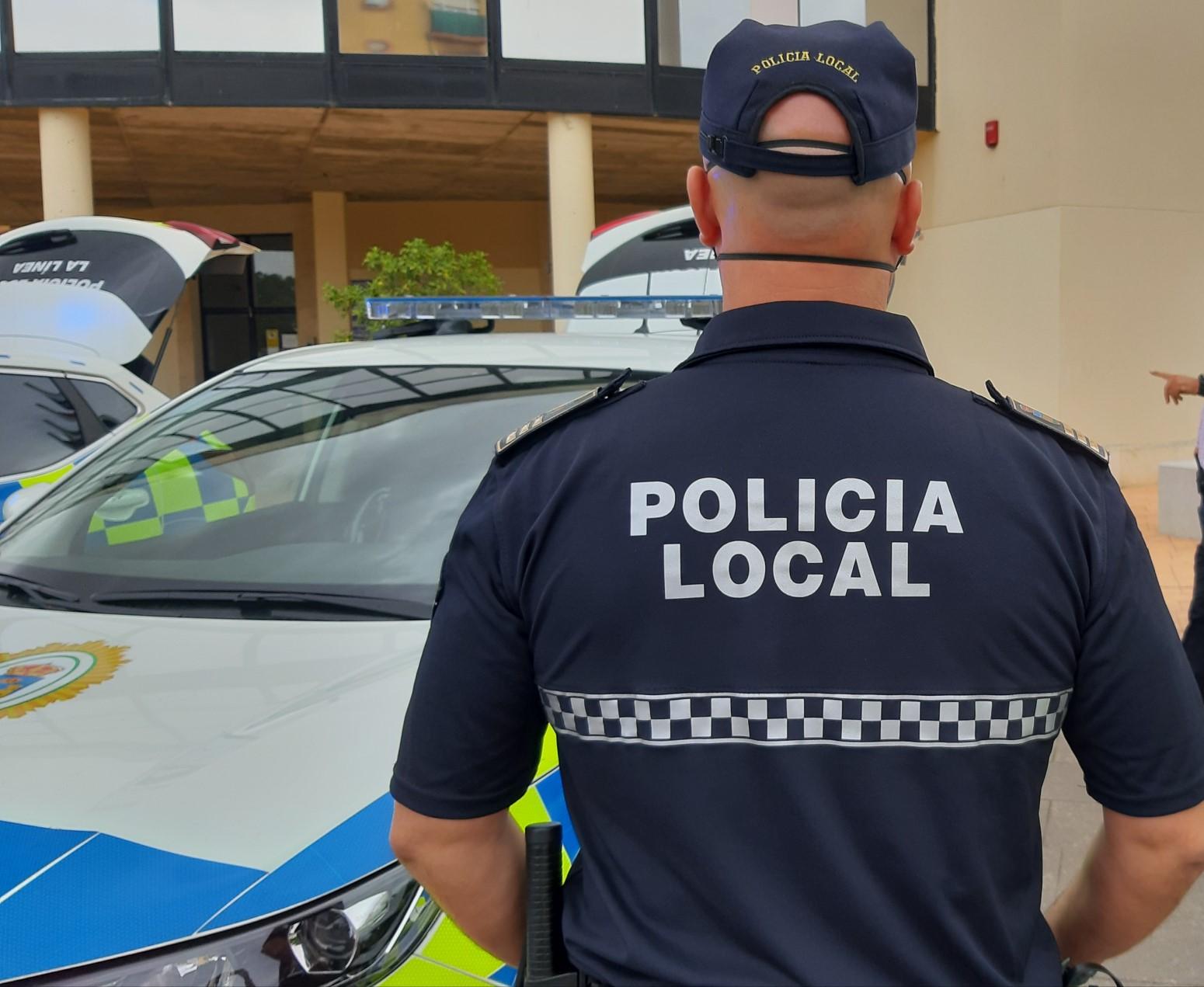 Policia local agente