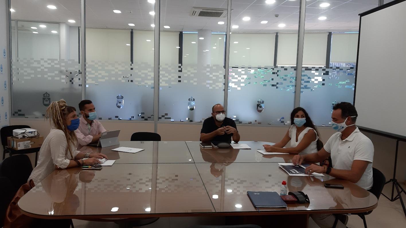 Reunión Arcgisa