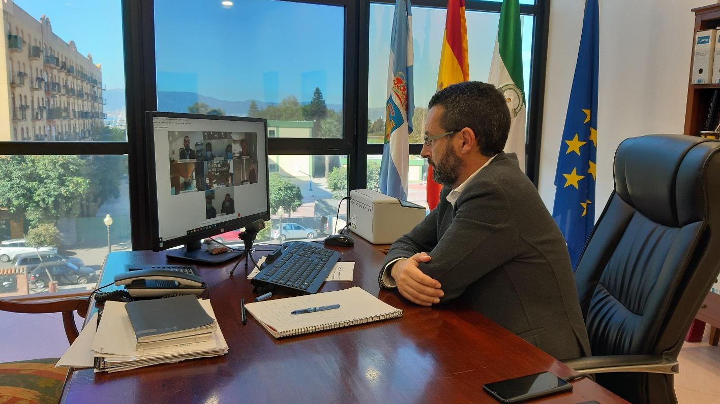 alcalde videoconferencia Fomento