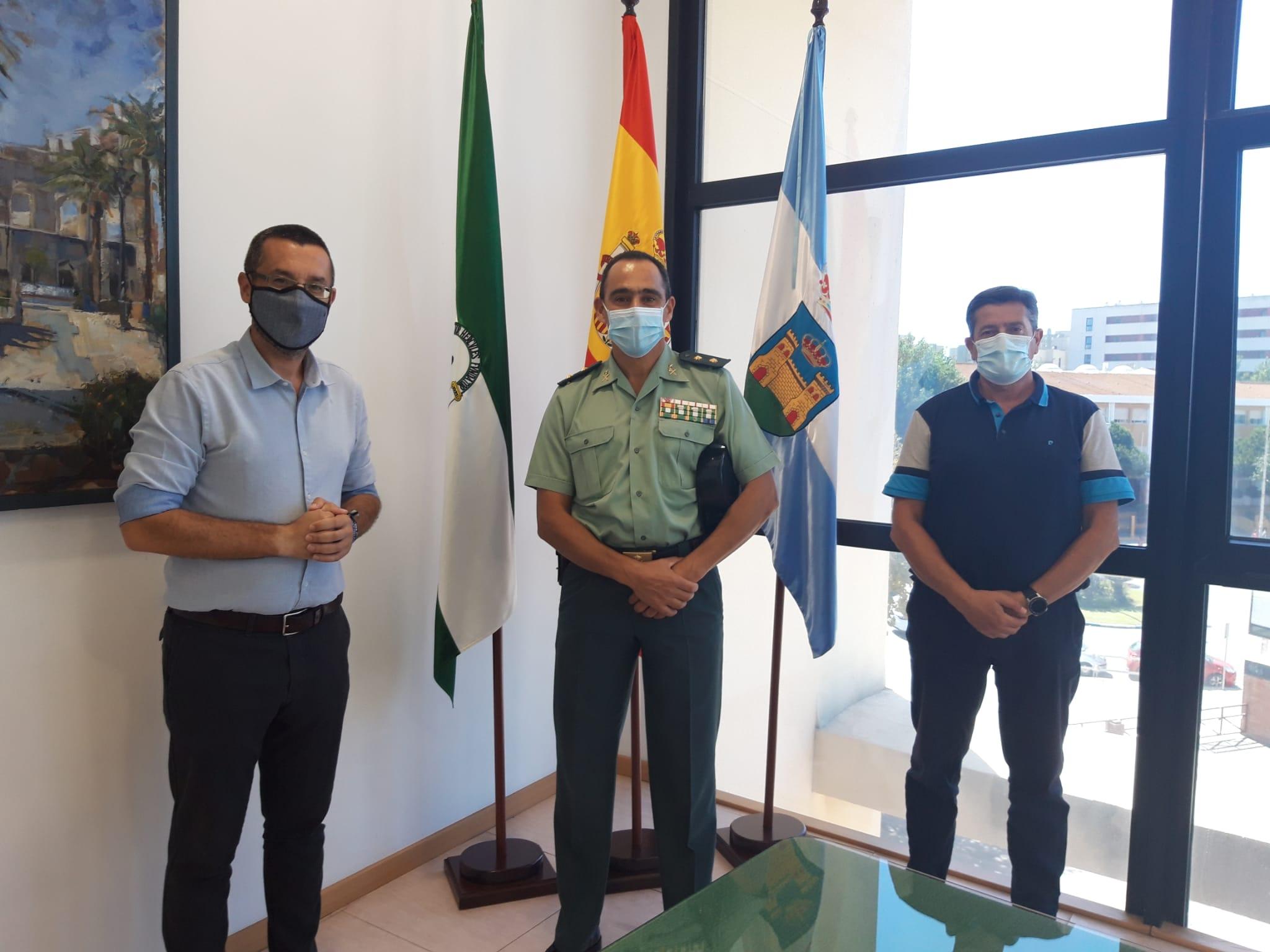 RECEPCION NUEVO JEFE DE LA COMANDANCIA DE LA GUARDIA CIVIL DE ALGECIRAS