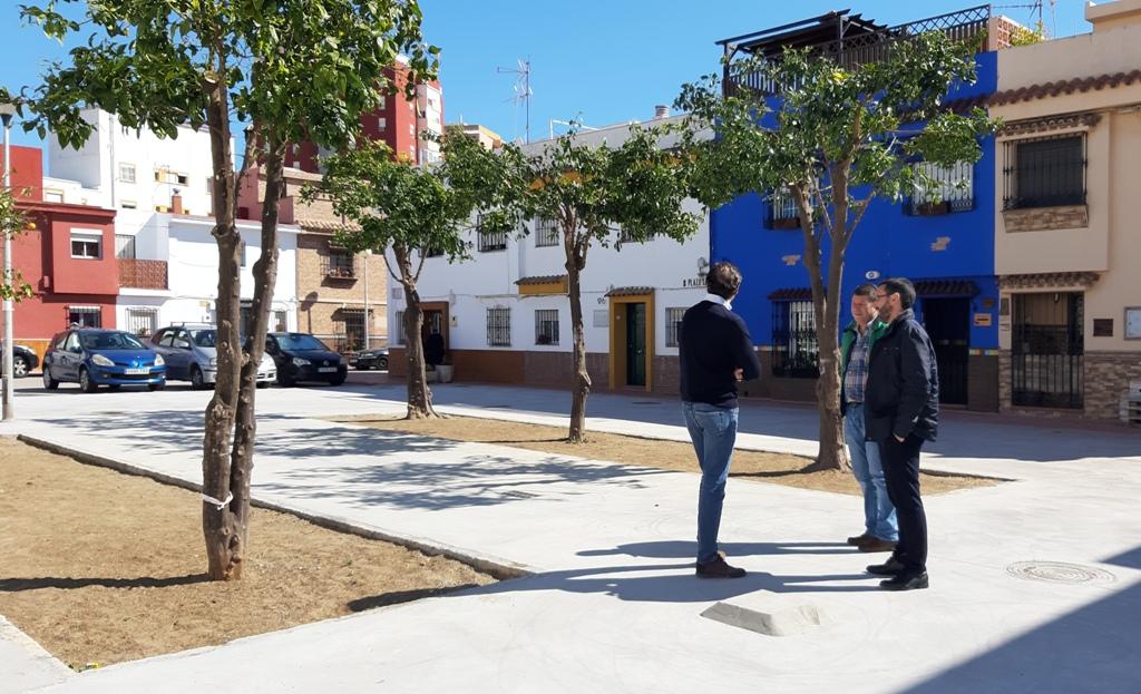 Visita barriada Mondejar