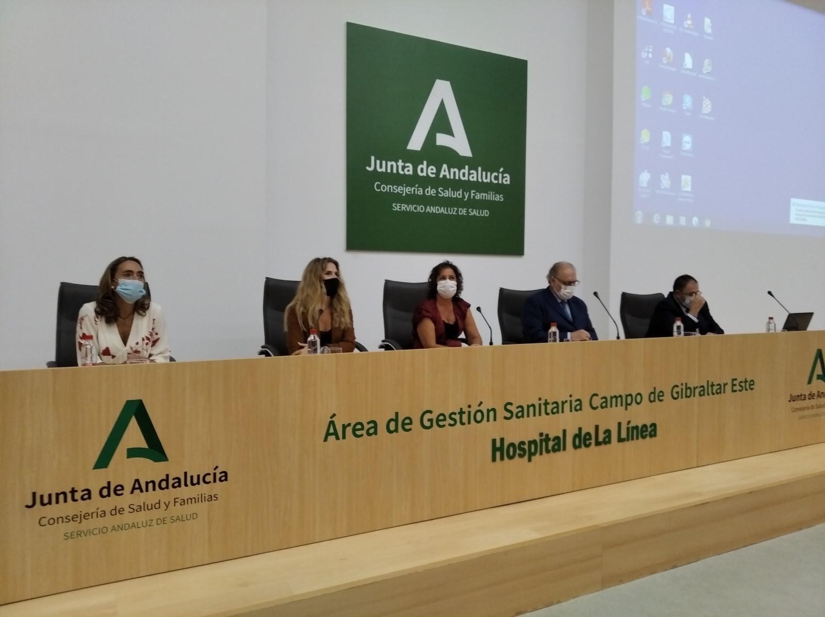 presentacion de la nueva gerente del hospital